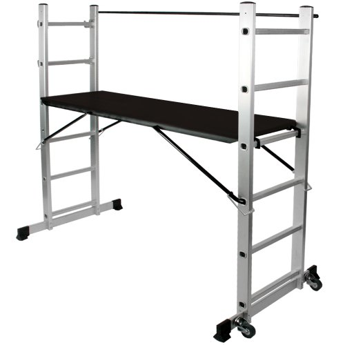 aluminium arbeitsger st bauger st und leiterkombination. Black Bedroom Furniture Sets. Home Design Ideas